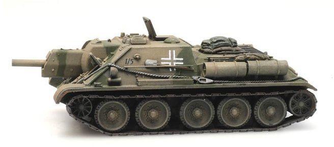 SU-122 Beutefahrzeug gotowy model H0 Artitec