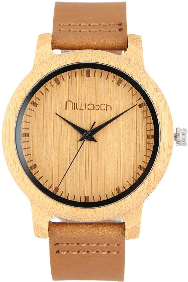 Zegarek drewniany Niwatch BASIC - 45 mm