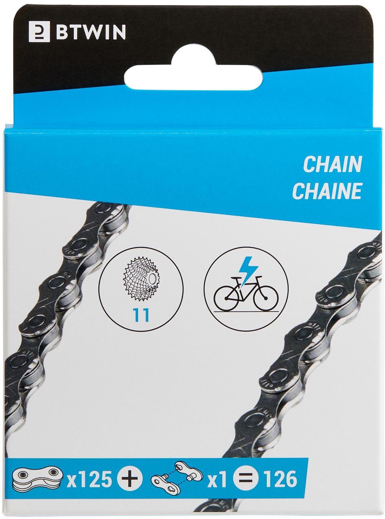 Łańcuch Rowerowy 11-Biegowy Do Roweru Elektrycznego