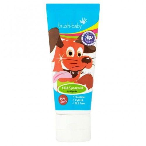 BRUSH-BABY pasta do zębów dla dzieci 6+ lat, smak delikatnie miętowy (75 ml)