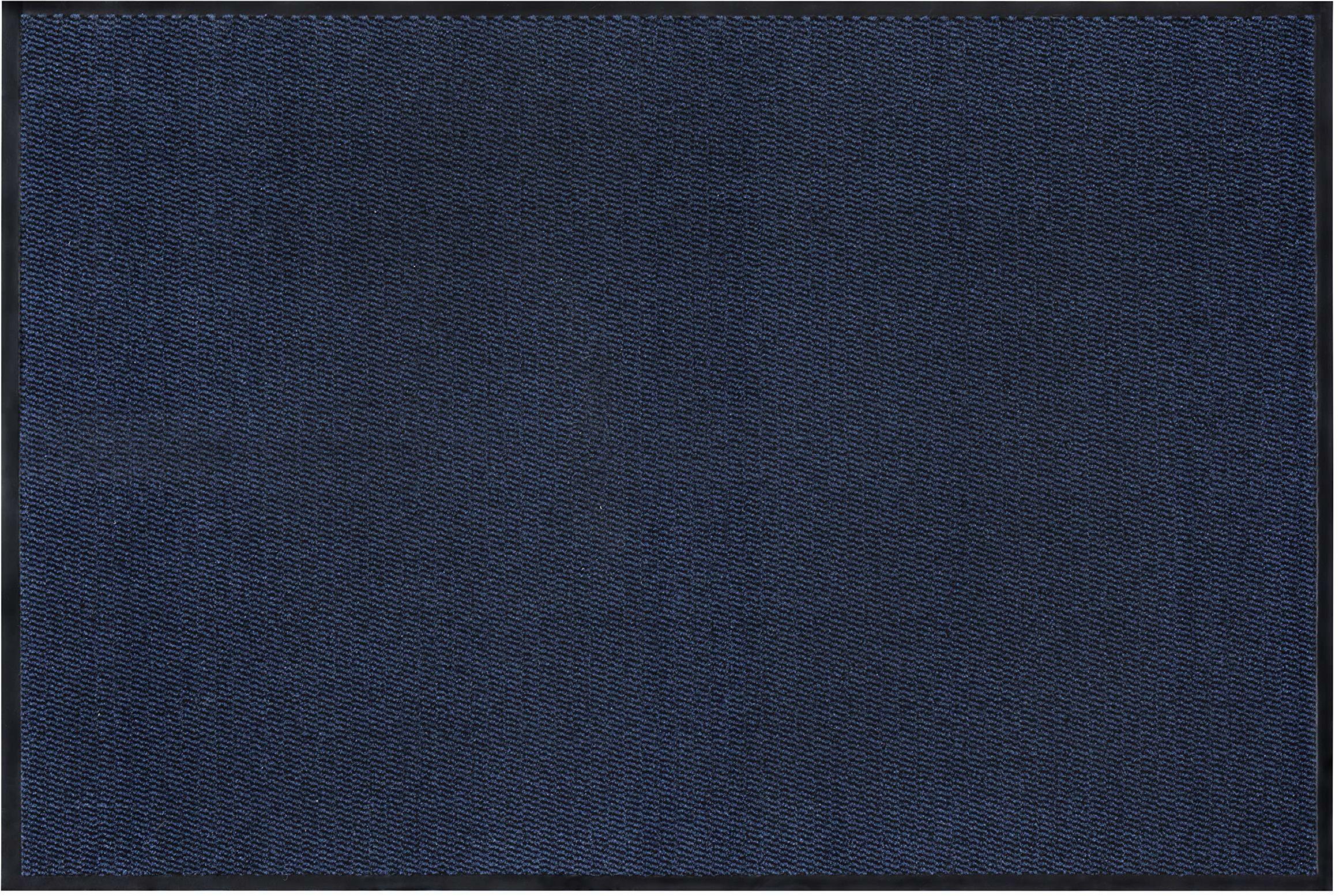 Andiamo wycieraczka do łapania brudu, polipropylen, niebieski, 60 x 80 cm