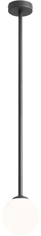 Pinne lampa wisząca kula czarna 1080PL/G1/L - Aldex Do -17% rabatu w koszyku i darmowa dostawa od 299zł !
