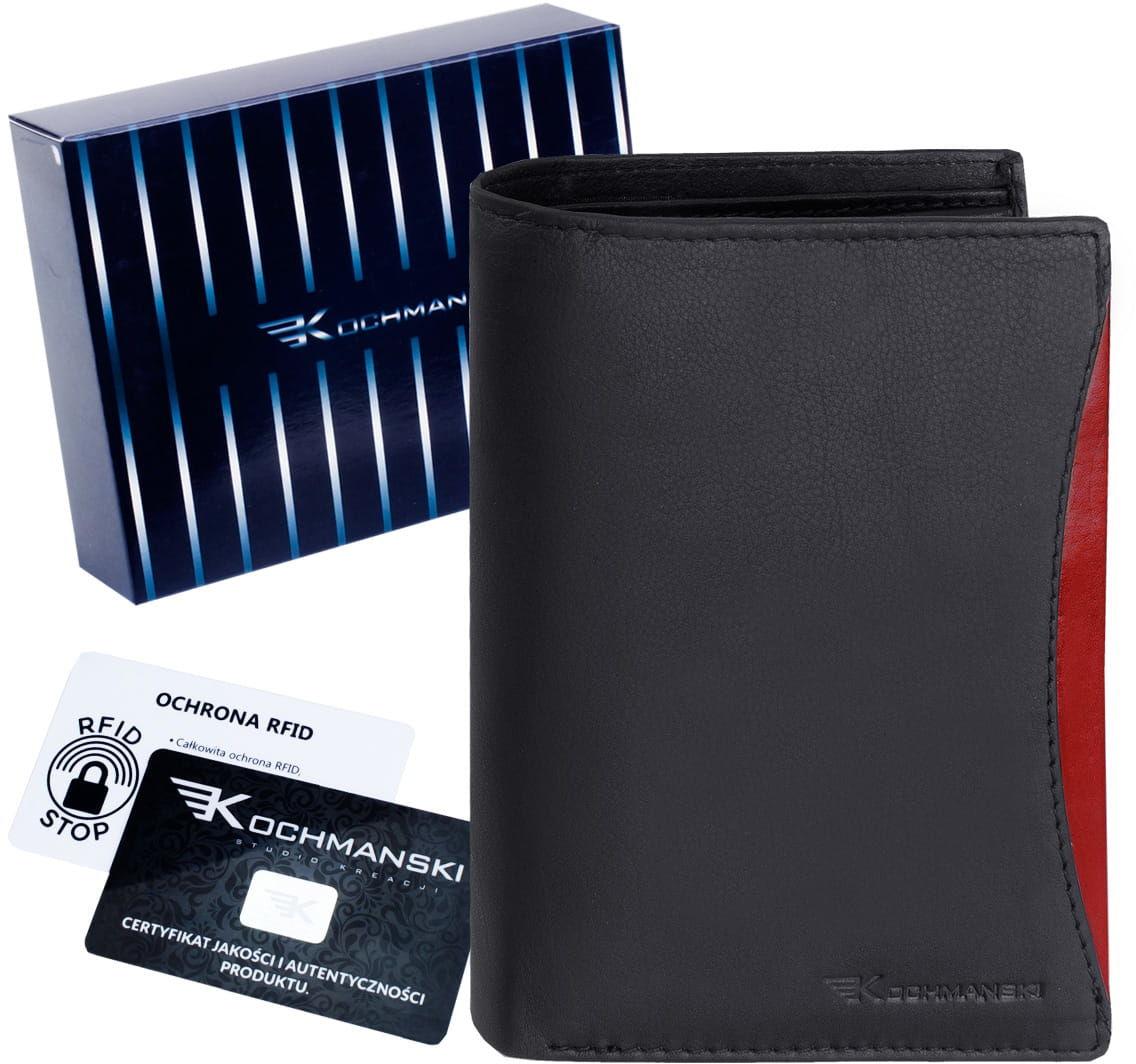 KOCHMANSKI skórzany portfel męski RFID 3251