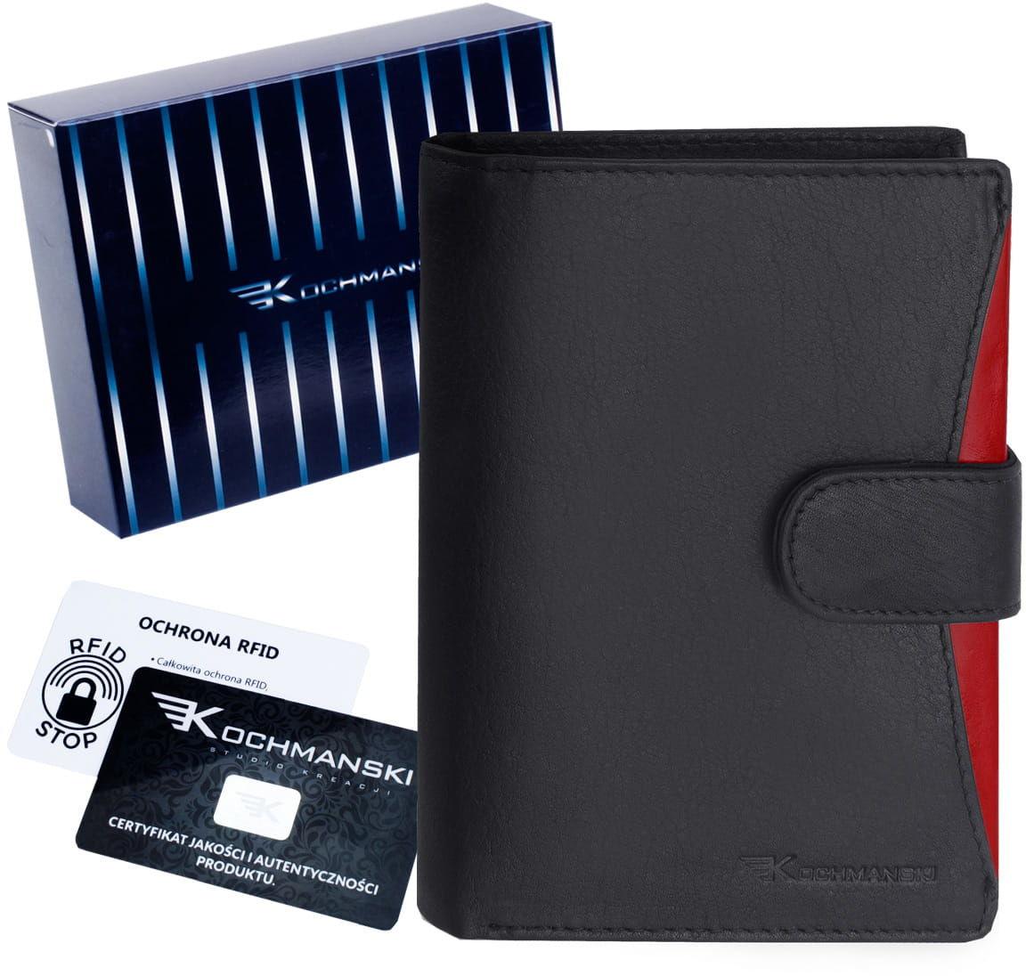 KOCHMANSKI skórzany portfel męski RFID 3252