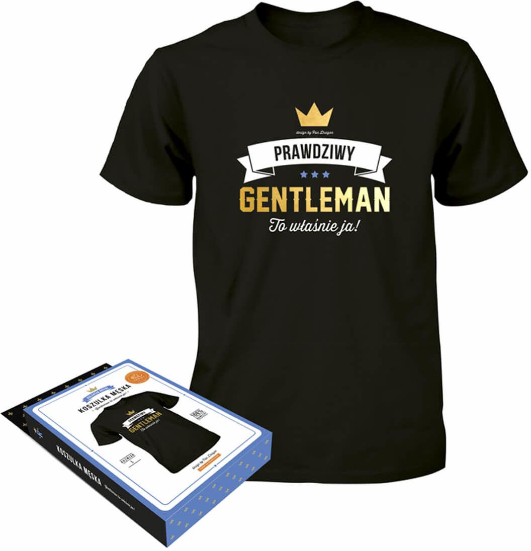 Koszulka z napisem Prawdziwy Gentleman
