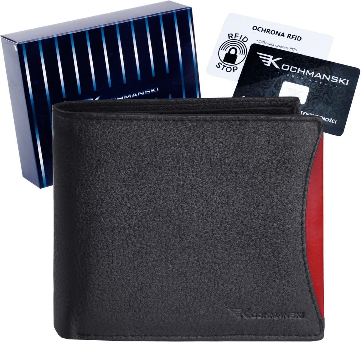 KOCHMANSKI skórzany portfel męski RFID 3253