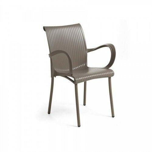Krzesło Dama Nardi - Tortora