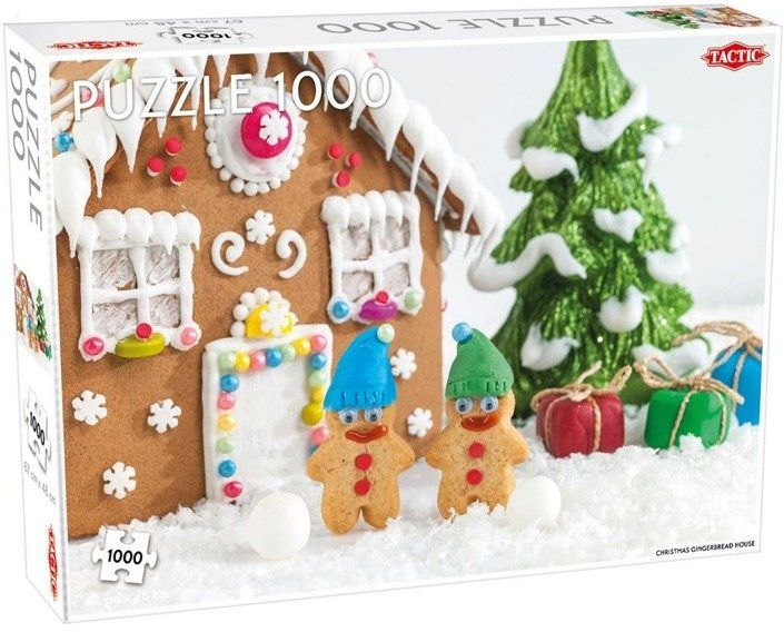 Puzzle 1000 Christmas gingerbread house - Tactic