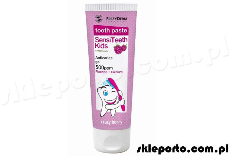 Frezyderm Sensiteeth Kids pasta do zębów 500 ppm - 3-6 lat
