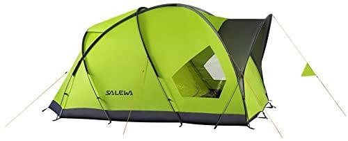 Salewa Alpine Hut III namiot kopułowy uniseks dostępny w kolorze zielonym - 4 osoby