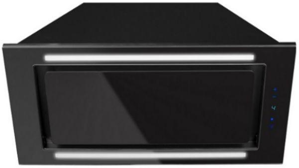Okap podszafkowy Lando Glass 2STRIPS Black 56,4 cm