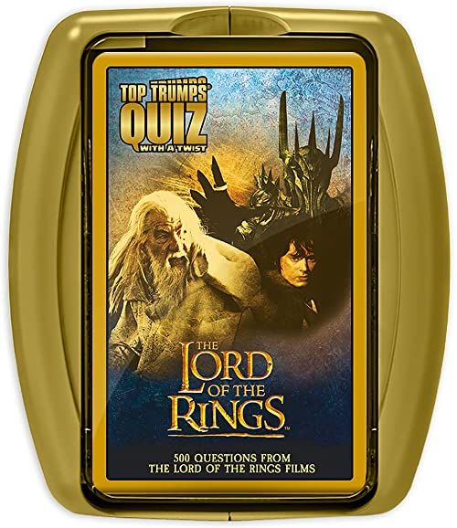Gra ''Lord of the Rings Top Trumps Quiz