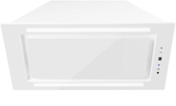 Okap podszafkowy Lando Glass 2STRIPS White 56,4 cm