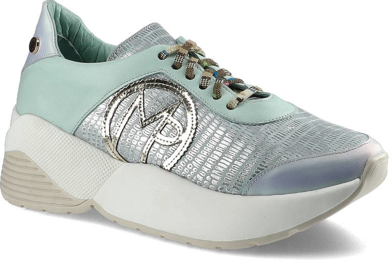 Sneakersy MASSIMO POLI 2Y1-20-0633 Mięta