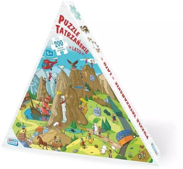 Puzzle 200 Tatrzańskie Lato - Wydawnictwo Jako