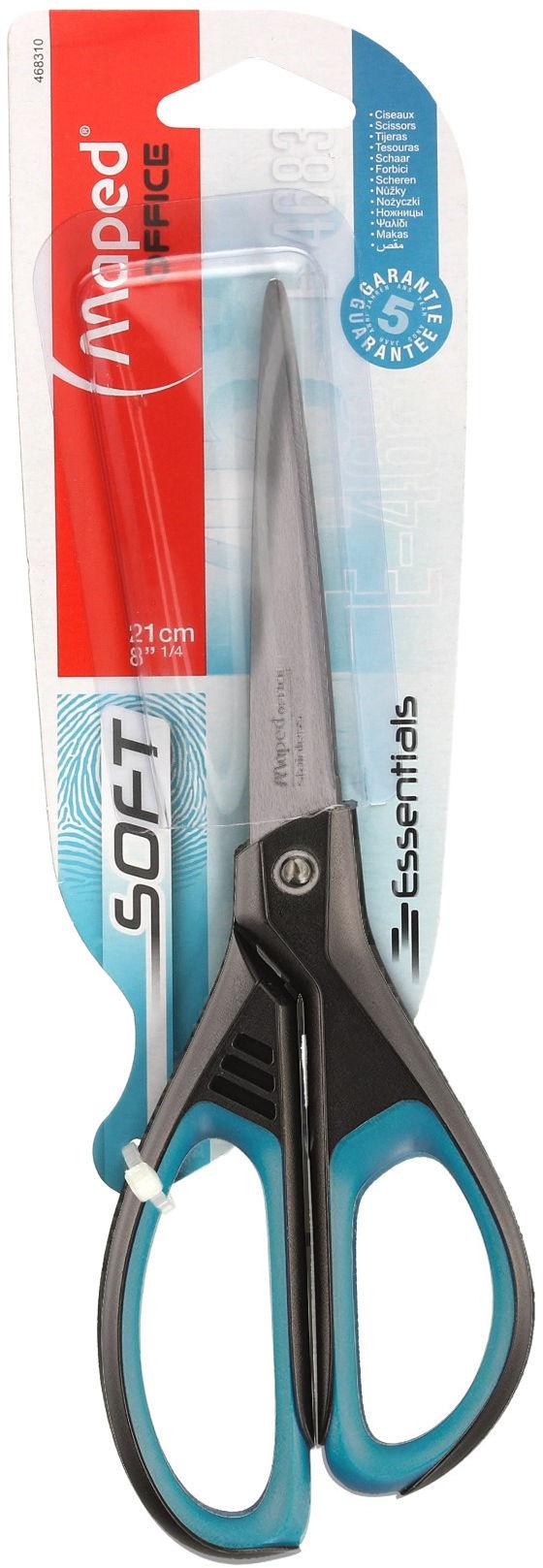 Nożyczki 21cm Soft Maped 468310