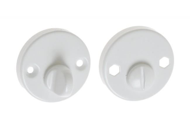 Blokada WC biała (kpl)