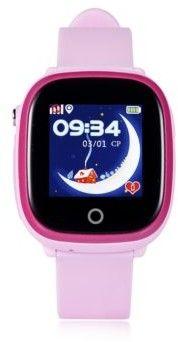 WONLEX Wodoszczelny (IP67) smartwatch dla dzieci GW400x z aparatem i GPS (GW400X-RÓŻ)