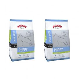 Pakiet Arion Original Chicken & Rice Small Puppy 2 x 3 kg