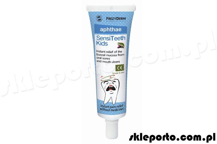 Frezyderm Sensiteeth Kids aphthae 50ml - żel na afty