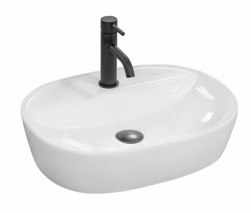 Umywalka ceramiczna nablatowa Carina 50 Rea (REA-U0568)