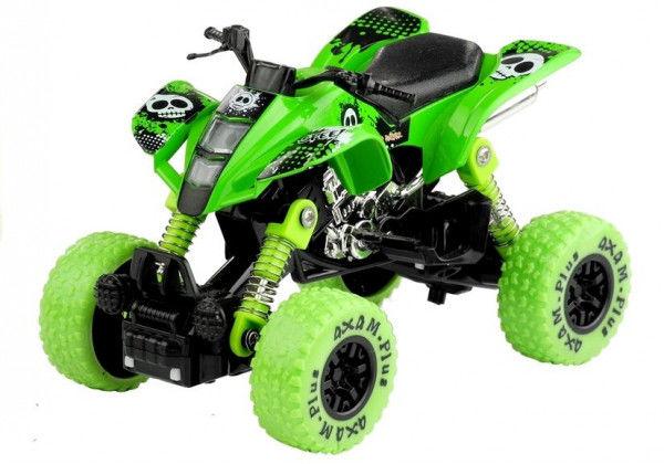 Motocykl Motor Monster Truck Amortyzatory 1:32