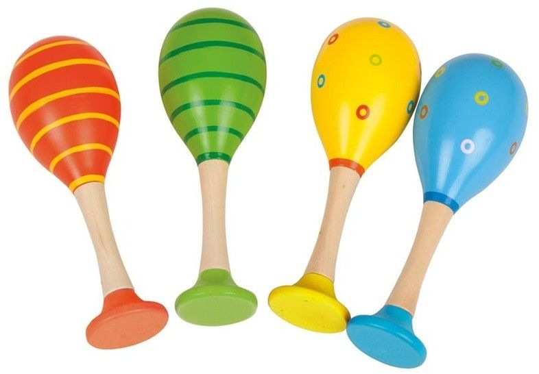 Kolorowe marakasy dla dzieci