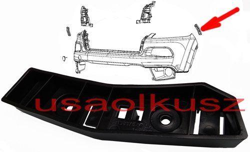 Ślizg błotnika mocowanie zderzaka przedniego lewe Jeep Cherokee KL 2014-