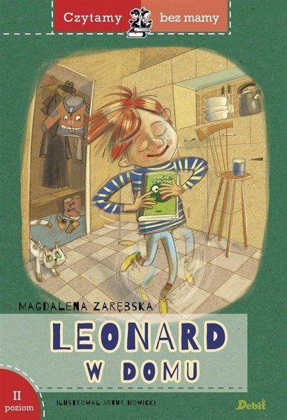 Czytamy bez mamy Leonard w domu - Magdalena Zarębska