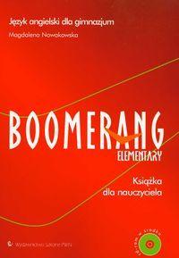 Boomerang Elementary Książka nauczyciela z płytą CD Język angielski
