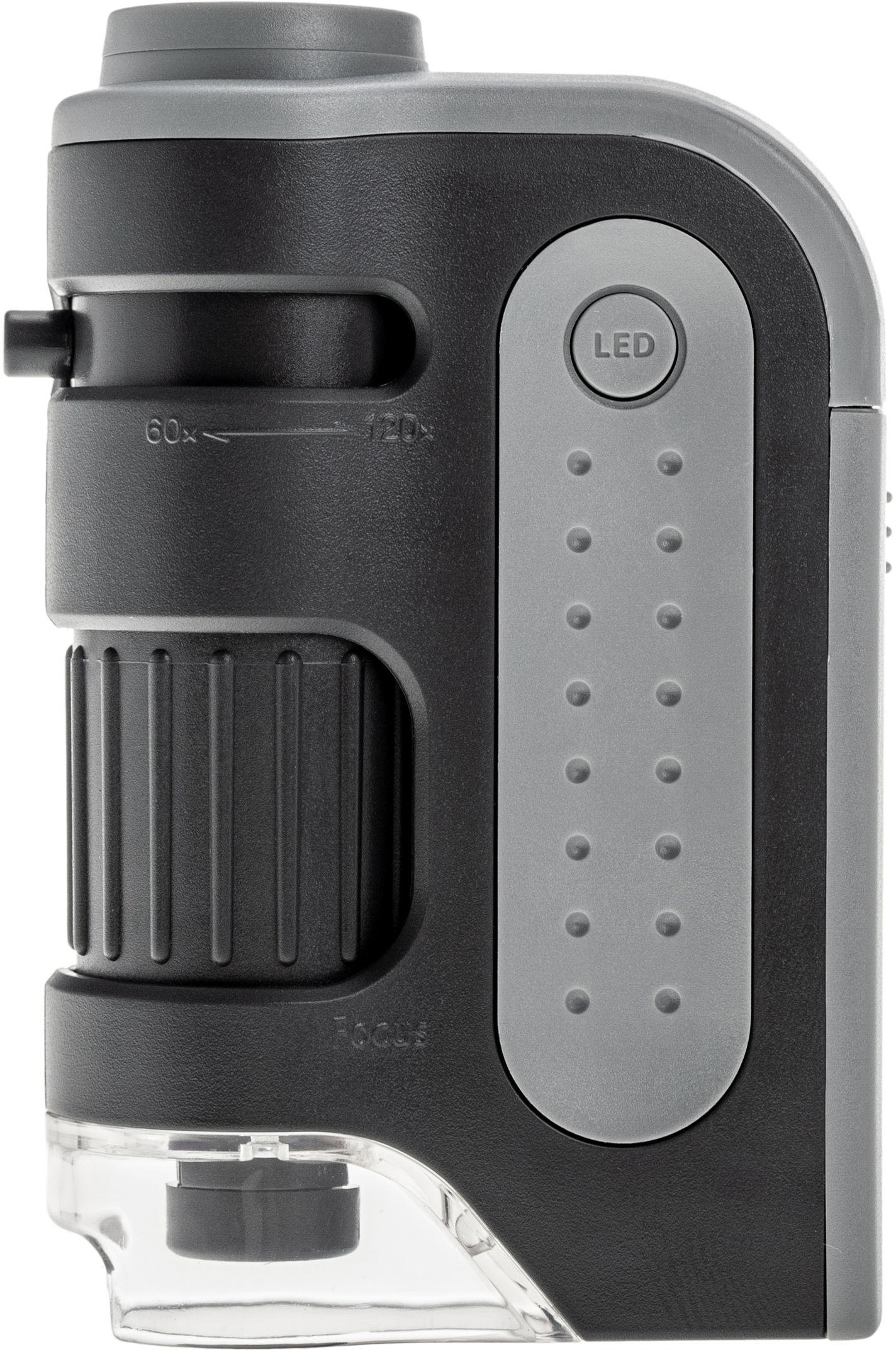 Mikroskop kieszonkowy Carson MicroBrite Plus 60-120x (MM-300)