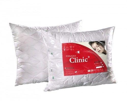 Poduszka antyalergiczna 50x60 Clinic 0,45 kg biała AMW