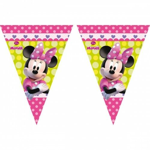 Baner z flag Minnie Mouse Happy Helpers