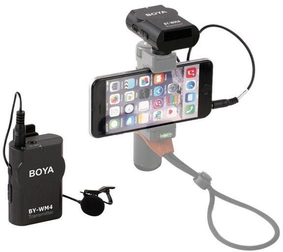 Mikrofon bezprzewodowy Boya BY-WM4