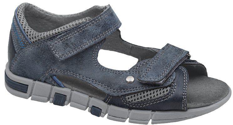 Sandałki dla chłopca KORNECKI 4759 Niebieskie Sandały