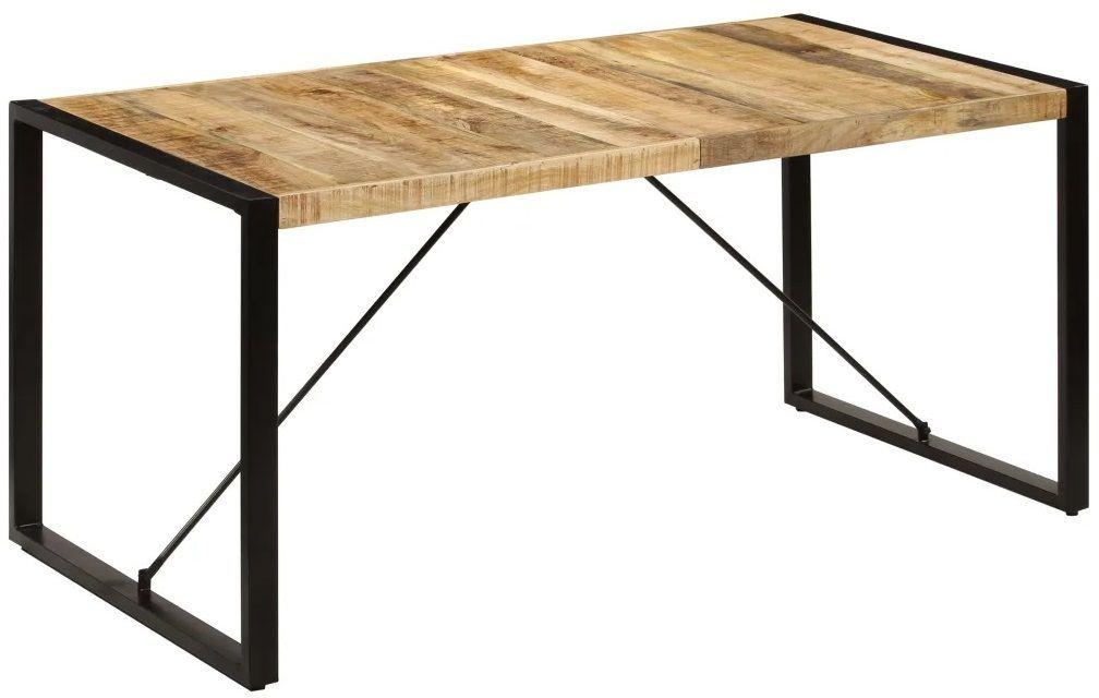 Industrialny stół z drewna 80x160  Veriz 3X