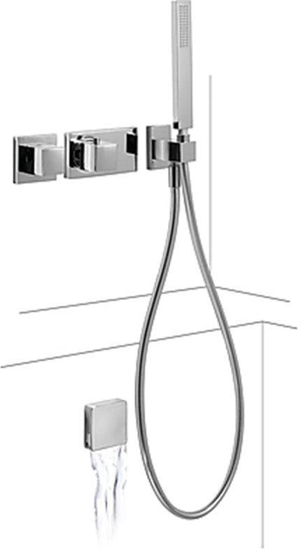 Tres Block System zestaw prysznicowy chrom 20725206