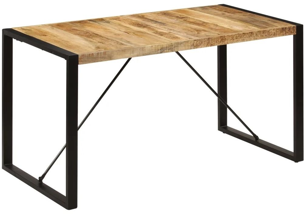 Industrialny stół z mango 70x140  Veriz 2X