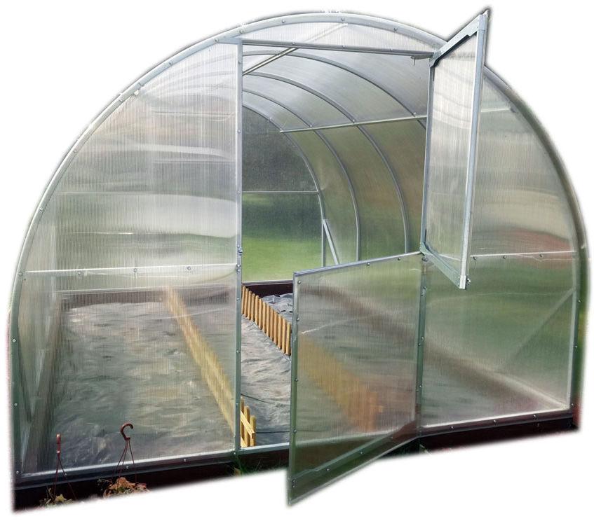 Szklarnia Elite 30 m2 (3x10 m) poliwęglan 6 mm