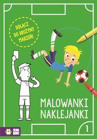 Piłkarskie malowanki naklejanki Część 1