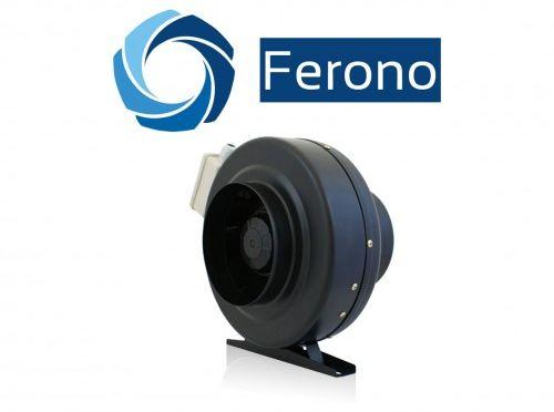 Wentylator kanałowy, promieniowy, metalowy 100mm, 330m3/h (FKM100)