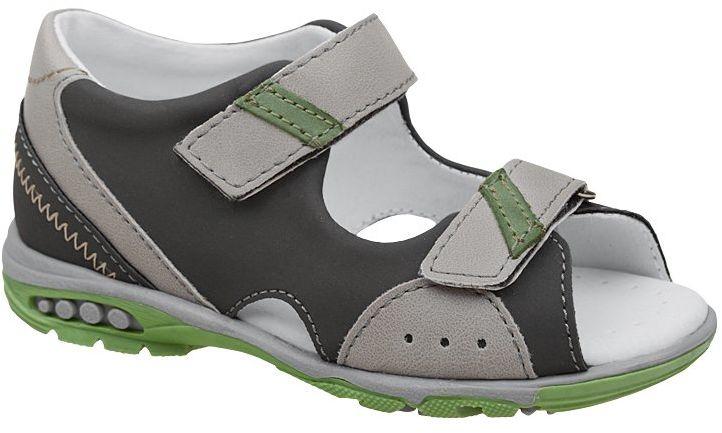 Sandałki dla chłopca KORNECKI 6167 Grafitowe Sandały