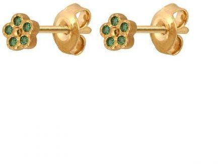 Złote kolczyki na sztyft 53132