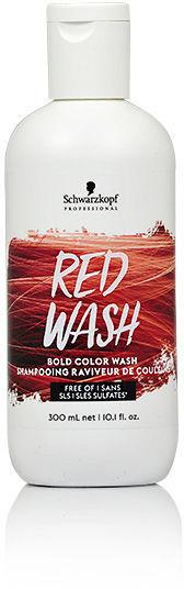 Schwarzkopf Bold Color Wash Szampon koloryzujący 300 ml Red Wash