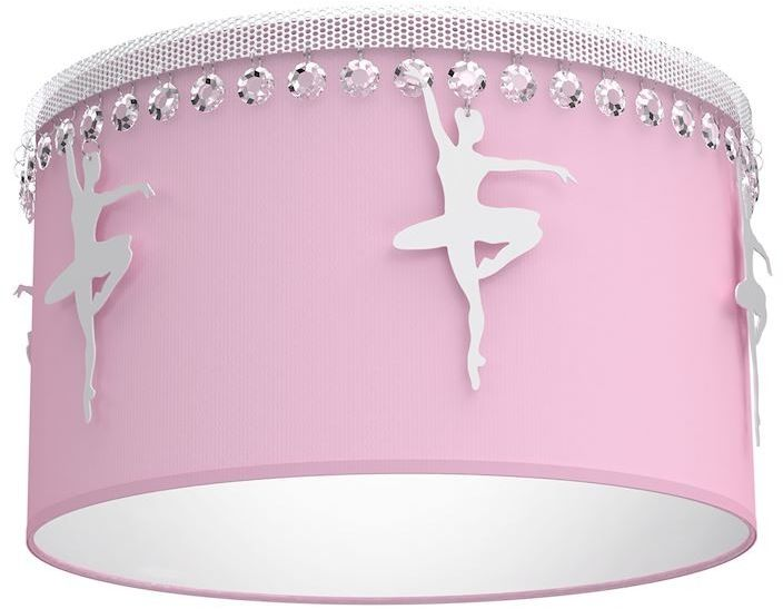 Plafon Baletnica kryształki różowy MLP4975 - Milagro // Rabaty w koszyku i darmowa dostawa od 299zł !