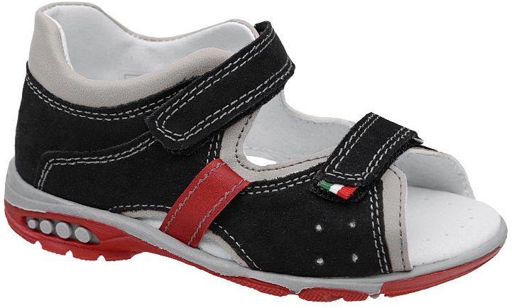 Sandałki dla chłopca KORNECKI 6567 Czarne Sandały