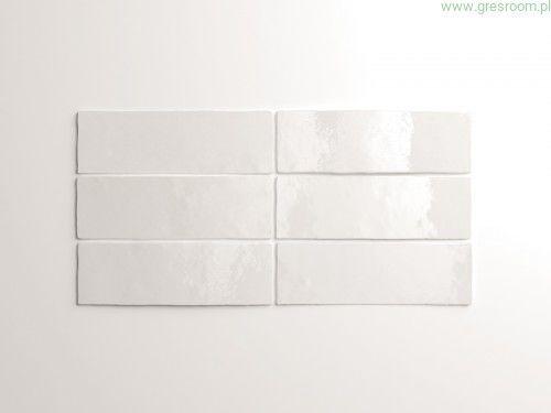 Artisan White 6,5x20 białe kafelki