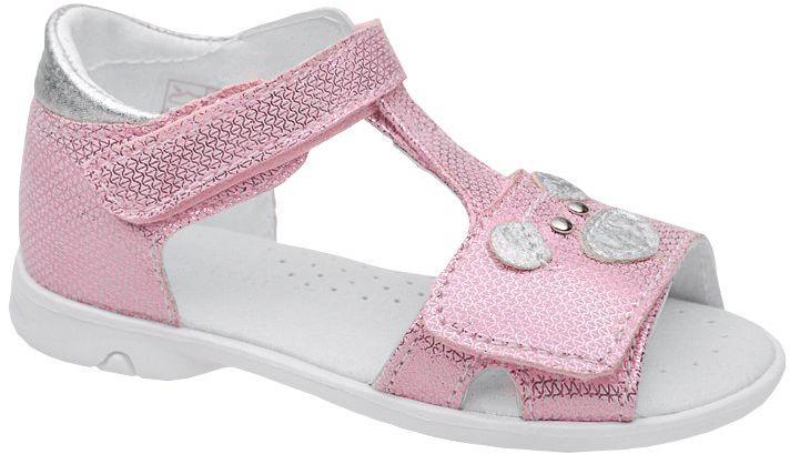Sandałki dla dziewczynki KORNECKI 6556 Różowe Sandały