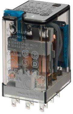Przekaźnik przemysłowy 3 CO (3PDT) 230VAC 55.33.8.230.0000 Przekaźnik przemysłowy 3 CO (3PDT) 230VAC 55.33.8.230.0000