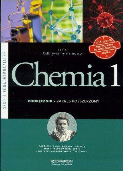 Chemia LO 1 Odkrywamy na... podr ZR w. 2015 - Stanislawa Hejwowska, Ryszard Marcinkowski, Justy